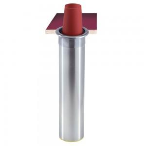 Диспенсер San Jamar C3500CH для стаканов объемом 950-1360 мл