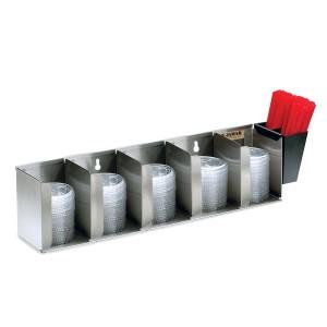 Органайзер для крышек и трубочек San Jamar L1022
